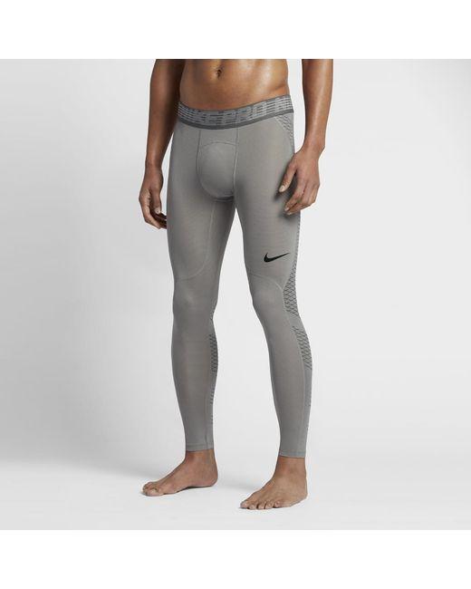 Nike   Gray Pro Hypercool Men's Training Tights for Men   Lyst