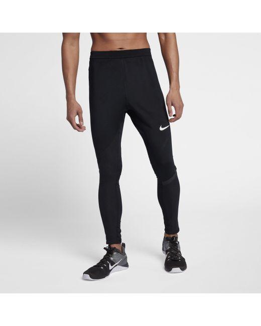 0b64502cfa1a3 Nike Pro Modern Tights in Black for Men - Lyst