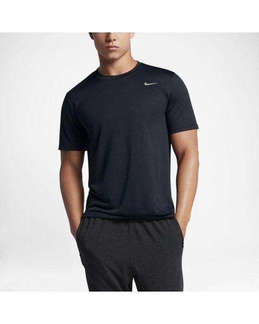 b0c91cbd Nike Legend 2.0 Training T-shirt in Black for Men - Save 24% - Lyst