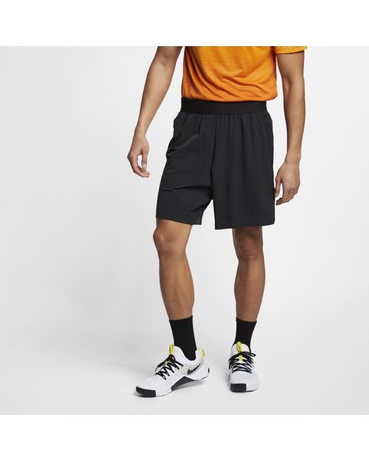 838ca96134 Nike - Black Flex Tech Pack Training Shorts for Men - Lyst ...