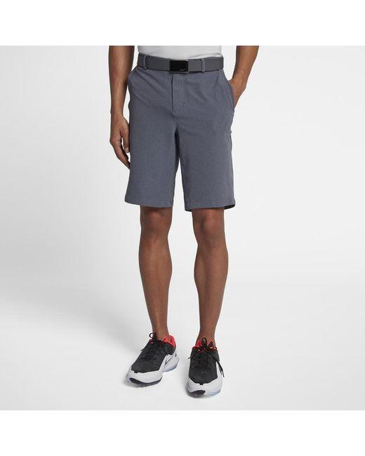 d256f54d56 Lyst - Nike Flex Hybrid Men's Standard Fit Golf Shorts in Blue for Men