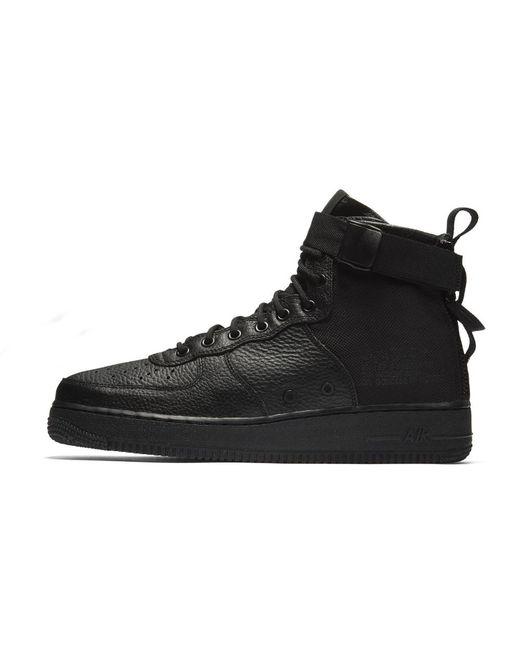 c97bdc4d81b Lyst - Nike Sf Air Force 1 Mid Men s Shoe in Black for Men
