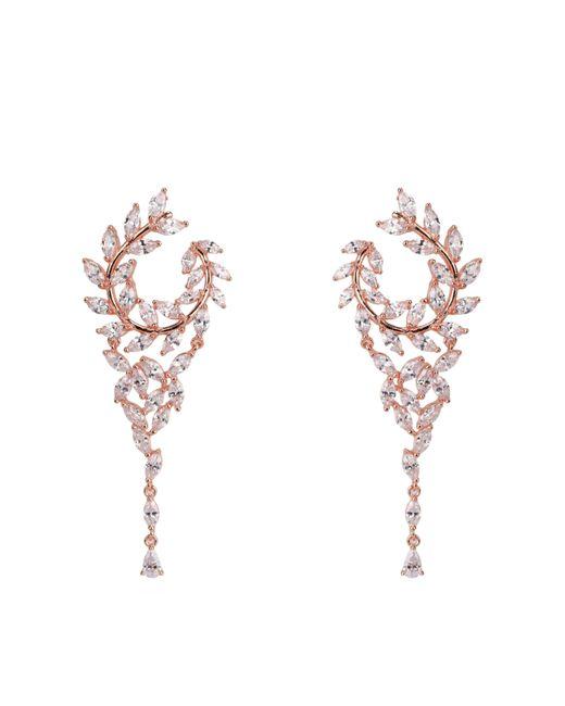 Nina - Metallic Catania Earring- Rose Gold - Lyst