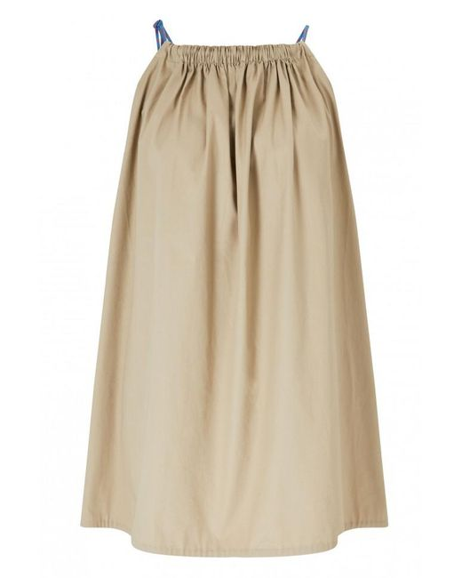 By Malene Birger - Natural Kanal Top With Rope Spaghetti Straps - Lyst