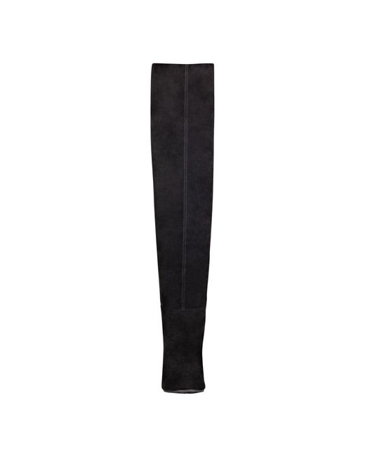 Nine West | Black Snowfall Over The Knee Boots | Lyst