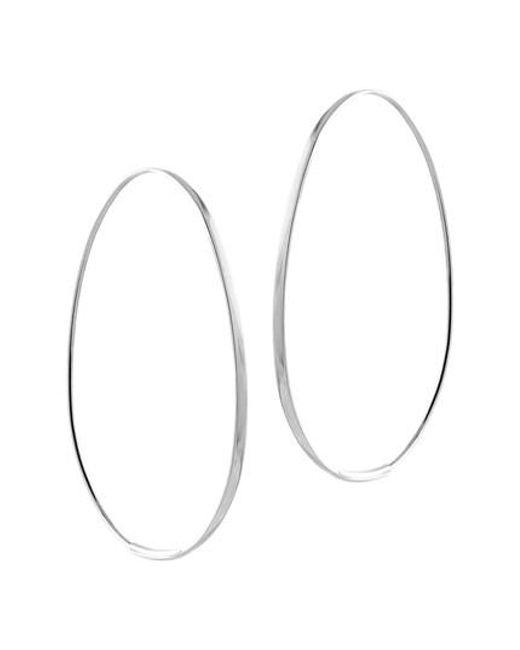 Lana Jewelry   Metallic Bond Endless Hoop Earrings   Lyst