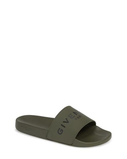 Givenchy - Multicolor Rubber Pool Sliders for Men - Lyst