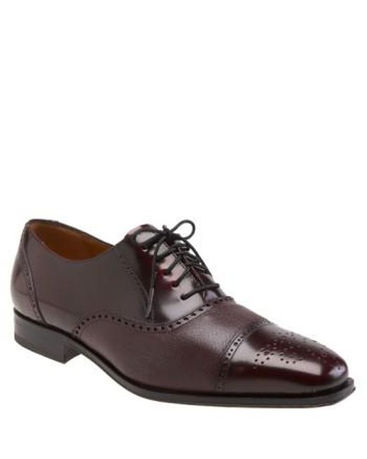 Mezlan - Purple 'tyson Ii' Oxford for Men - Lyst
