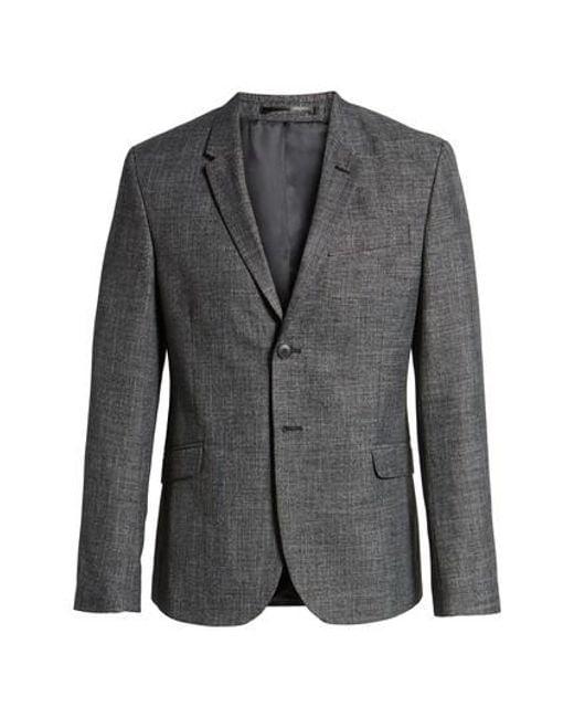 Topman - Gray Sport Coat for Men - Lyst