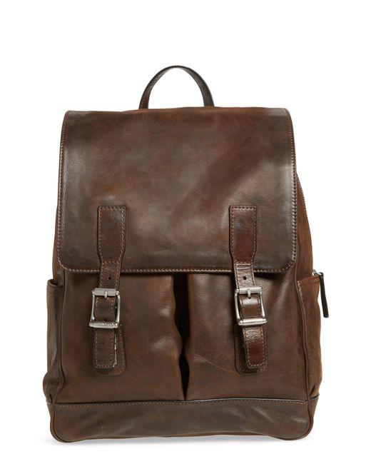 Frye - Brown Oliver Leather Backpack for Men - Lyst