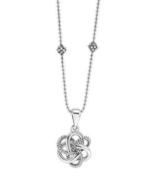 Lagos | Metallic 'love Knot' Pendant Necklace | Lyst
