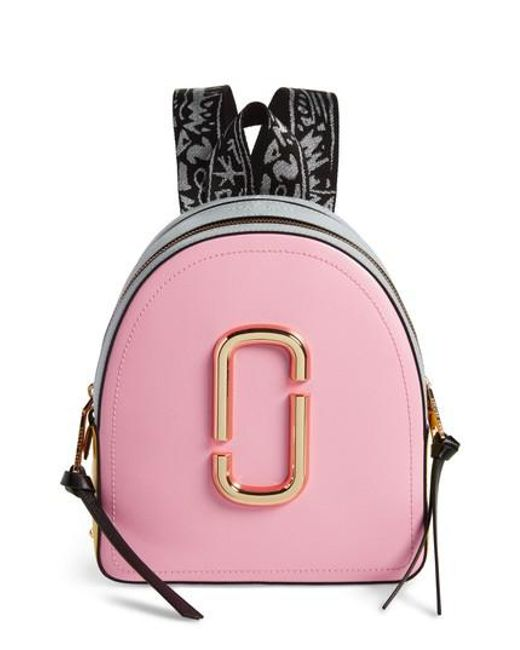 Marc Jacobs - Pink Pack Shot Leather Backpack - Lyst