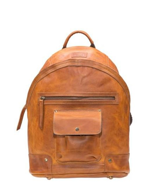 Will Leather Goods | Brown 'silas' Backpack for Men | Lyst