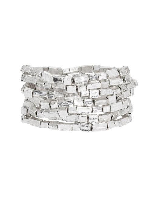 Karine Sultan - Metallic Bracelets (set Of 7) - Lyst