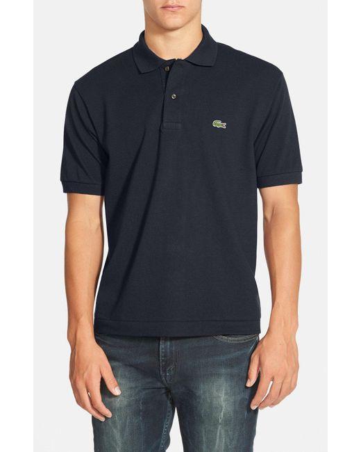 Lacoste - Purple L1212 Pique-Cotton Polo Shirt for Men - Lyst