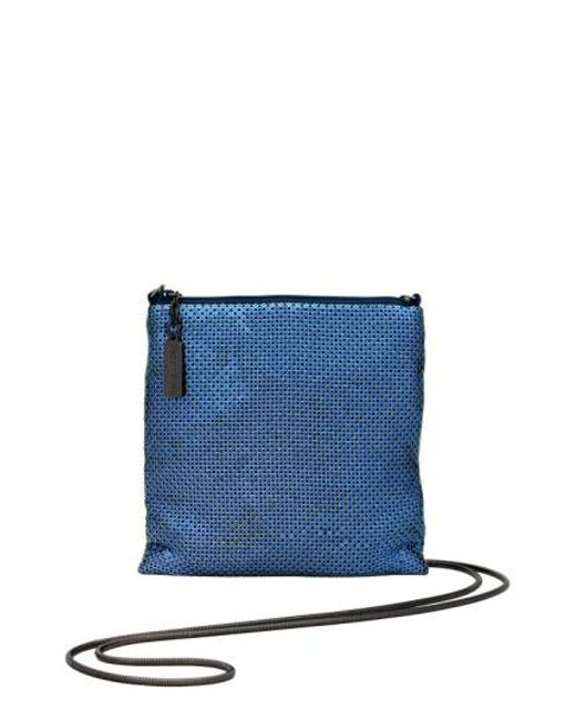 Whiting & Davis | Blue Crossbody Bag | Lyst