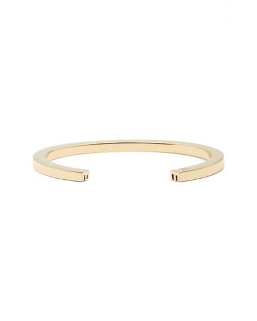 Stella Valle | Metallic Wrist Cuff | Lyst
