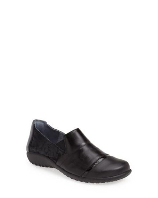 Naot - Black 'miro' Loafer - Lyst