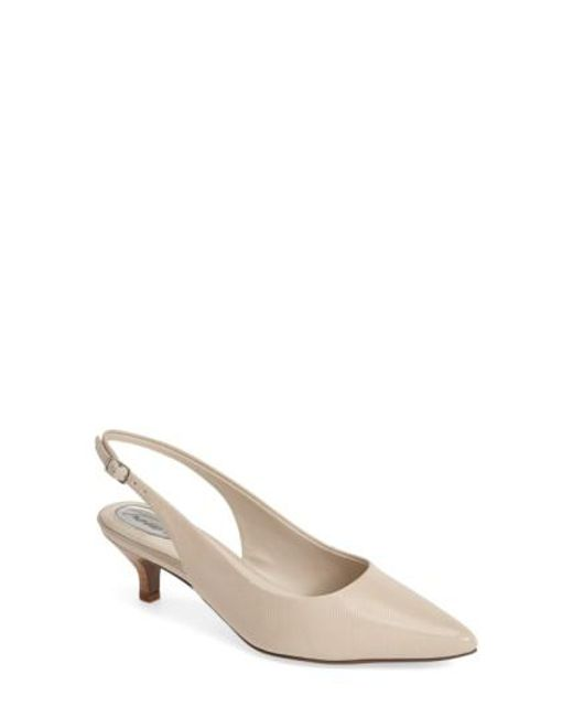 Trotters | Natural 'prima' Pump | Lyst