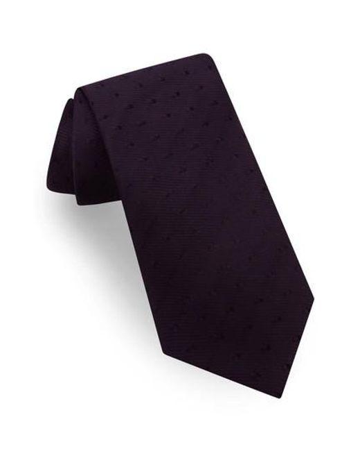 Ted Baker | Purple Silk Tie for Men | Lyst