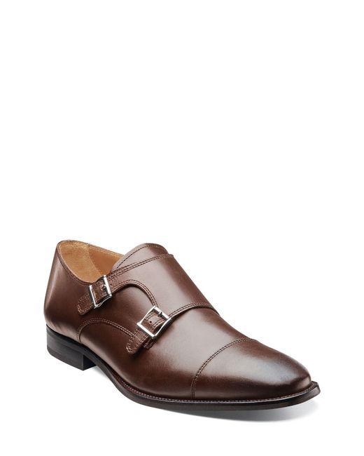 Florsheim - Black 'sabato' Double Monk Strap Shoe for Men - Lyst