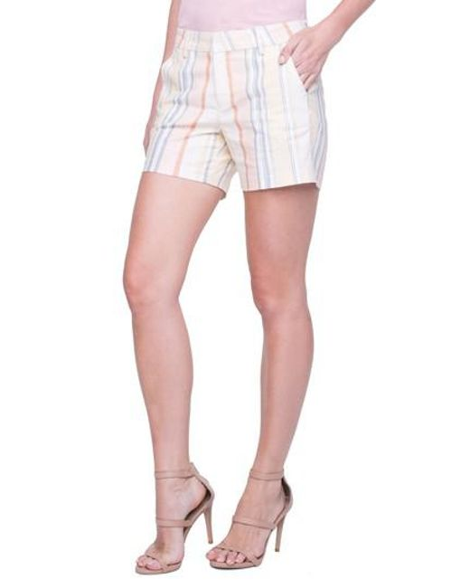Liverpool Jeans Company - Multicolor Kelsey Sunset Stripe Shorts - Lyst