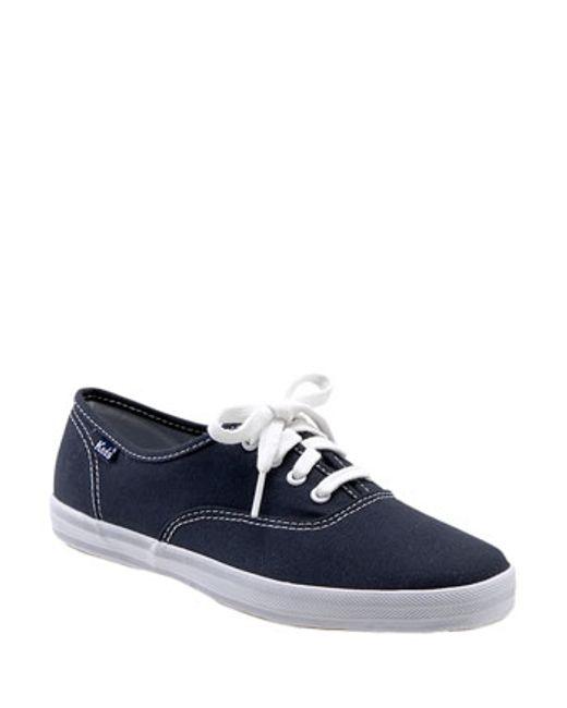 Keds | Blue Keds 'champion' Canvas Sneaker | Lyst