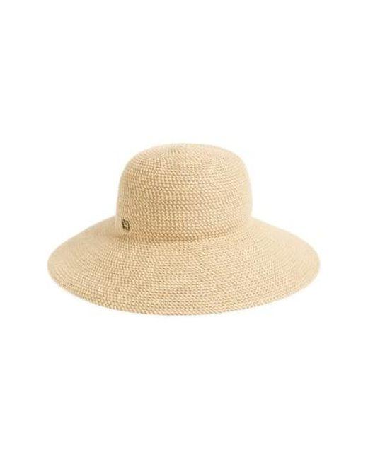 Eric Javits | Natural 'hampton' Straw Sun Hat | Lyst