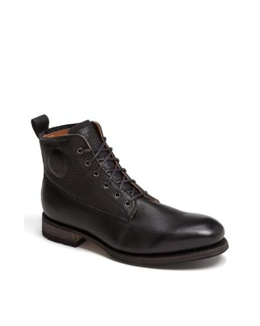 Blackstone - Black 'gm 09' Plain Toe Boot for Men - Lyst