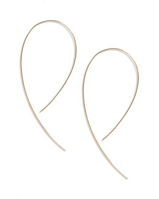 Lana Jewelry - Metallic 'hooked On Hoop' Earrings - Lyst