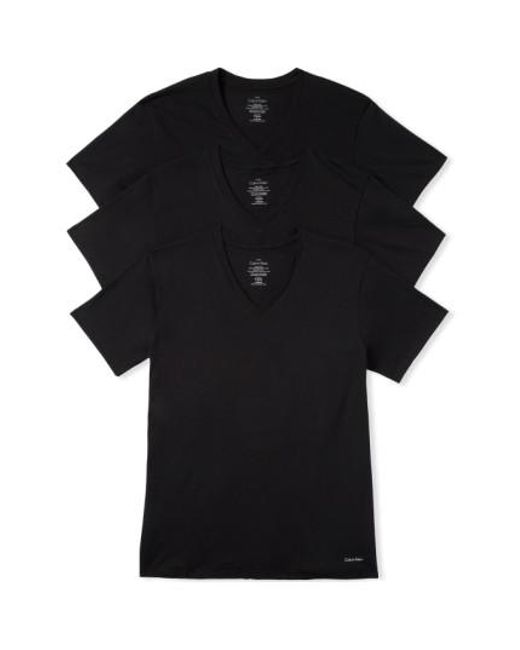 CALVIN KLEIN 205W39NYC - 3-pack Classic Fit T-shirt, Black for Men - Lyst