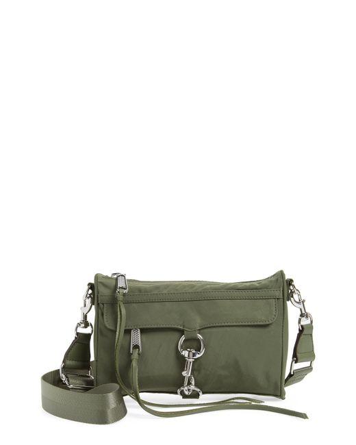 Rebecca Minkoff - Green Mini Mac Convertible Crossbody Bag - Lyst