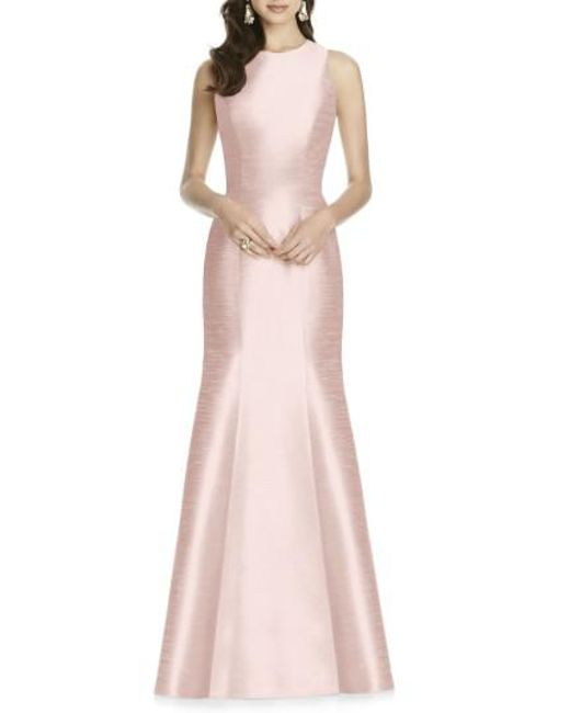 Alfred Sung   Pink Dupioni Trumpet Gown   Lyst