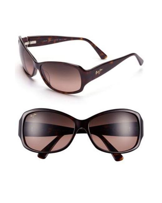 Maui Jim | Brown Nalani 61mm Polarizedplus2 Sunglasses - Dark Tortoise | Lyst