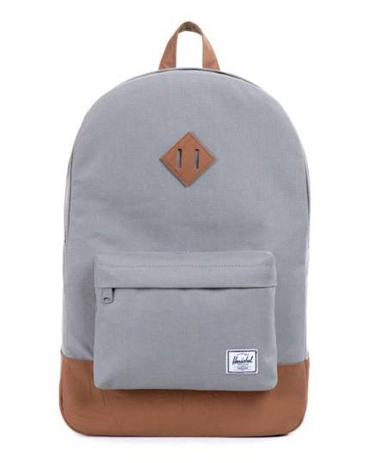 Herschel Supply Co. | Gray Heritage Backpack for Men | Lyst