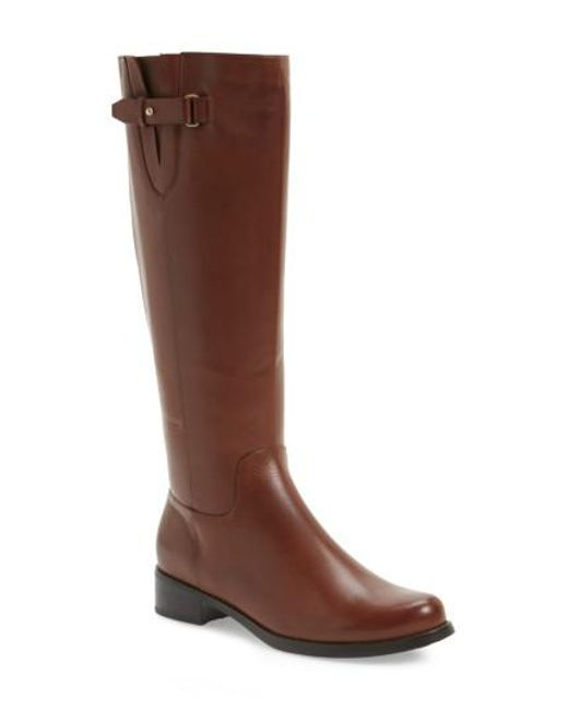 Blondo | Brown Volly Waterproof Riding Boot | Lyst