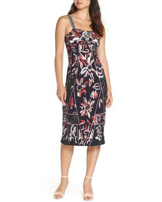 Foxiedox - Black Takeo Column Dress - Lyst