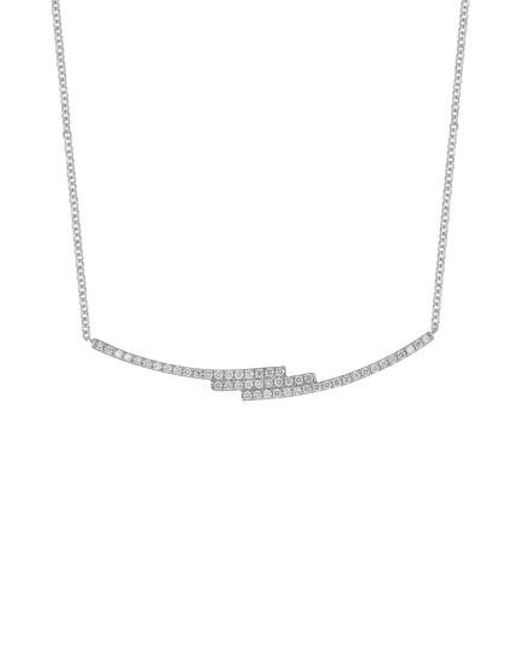Bony Levy - Metallic Diamond Zigzag Pendant Necklace (nordstrom Exclusive) - Lyst