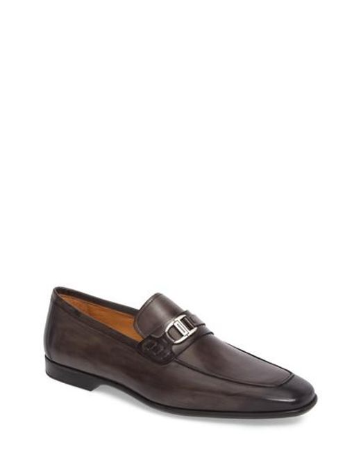 Magnanni Shoes | Gray Rufino Bit Loafer for Men | Lyst