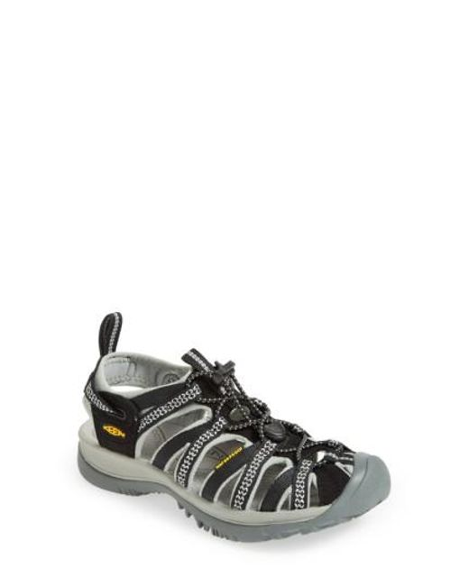 Keen | Black 'Whisper' Waterproof Sandal (Women) | Lyst