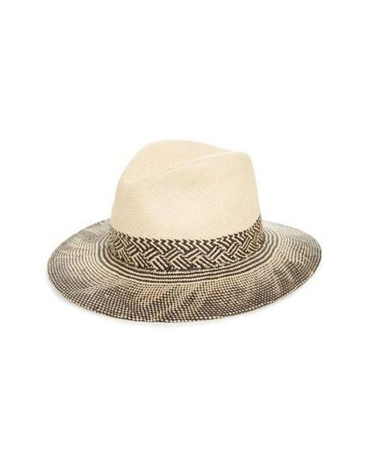 Rag & Bone | Natural Straw Panama Hat for Men | Lyst