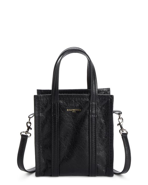 Balenciaga - Black Extra Extra Small Bazar Aj Shopper - Lyst