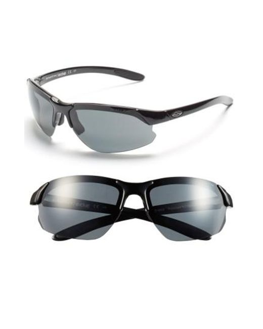 Smith - Black 'parallel D Max' 65mm Polarized Sunglasses - Lyst