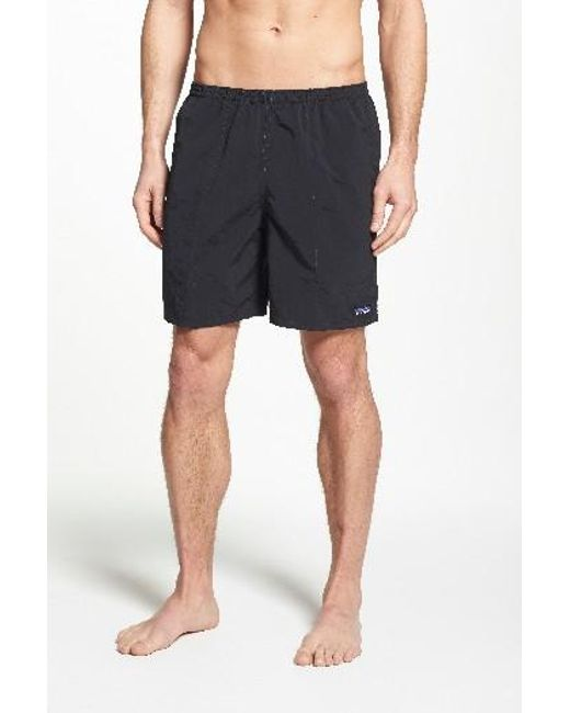 Patagonia | Blue Baggies Longs Swim Trunks for Men | Lyst