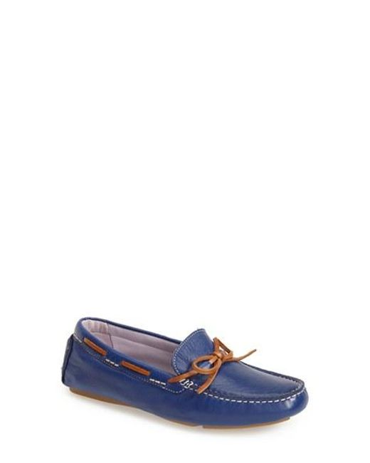 Johnston & Murphy | Black 'maggie' Moccasin | Lyst