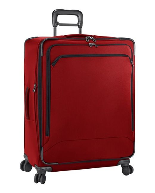 Briggs & Riley | Red 'transcend' Large Expandable Wheeled Suitcase for Men | Lyst