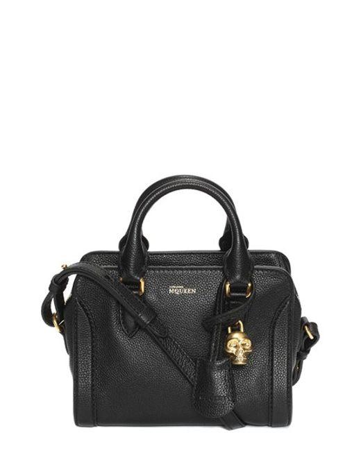 Alexander McQueen | Pink 'mini Padlock' Calfskin Leather Duffel Bag | Lyst