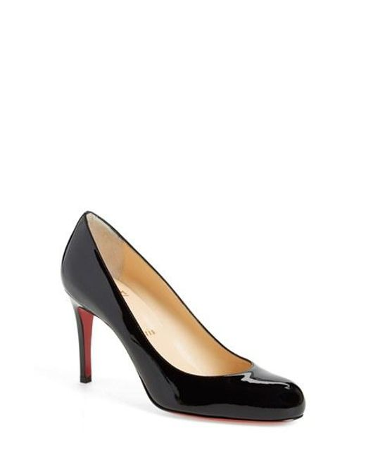 Christian Louboutin | Black Simple Pump | Lyst