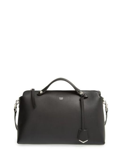 Fendi | Brown Bauletto Grande Leather Shoulder Bag | Lyst
