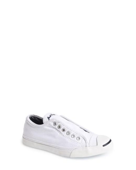 Converse   White Jack Purcell - LP Low-Top Sneakers   Lyst